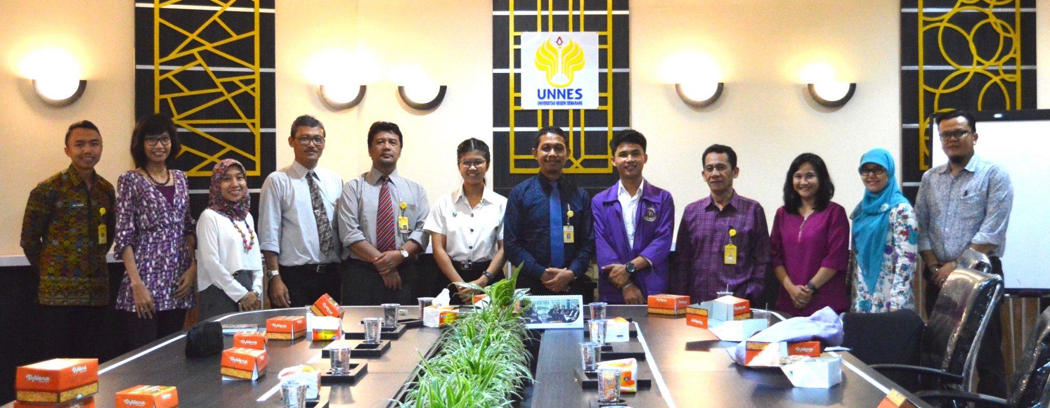 Tingkatkan Upaya Internasionalisasi, UNNES Terima Mahasiswa Kredit Transfer dari Kasertsart University, Thailand