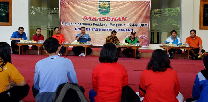 Sarasehan, Prof Fathur : Berharap Mahasiswa Lulus Tepat Waktu