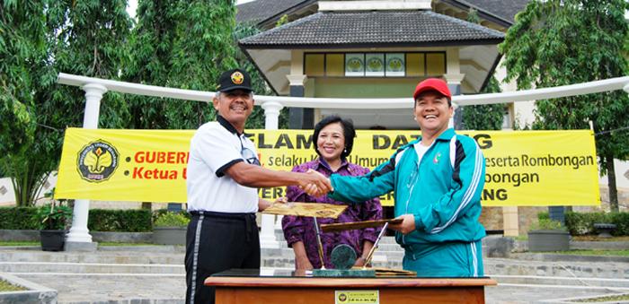 Bertema <em>Go Green</em>, PON Riau Adopsi Konservasi Unnes