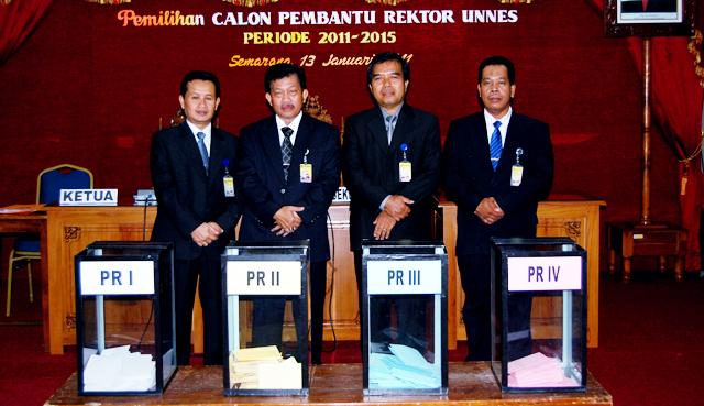 Inilah Para Calon Pembantu Rektor Terpilih