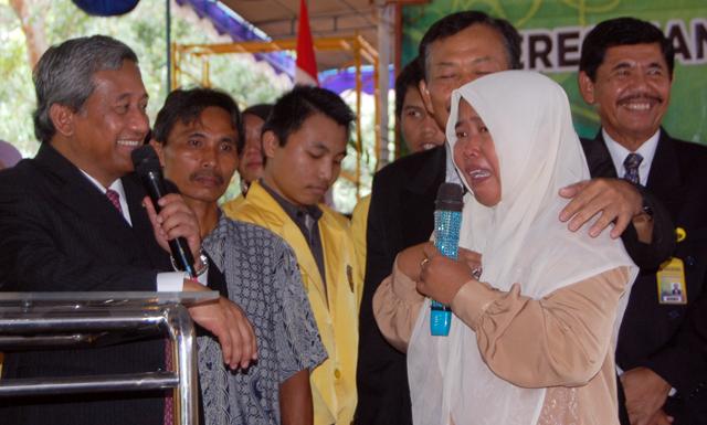 M Nuh Dialog dengan 3.600 Mahasiswa Bidikmisi Unnes
