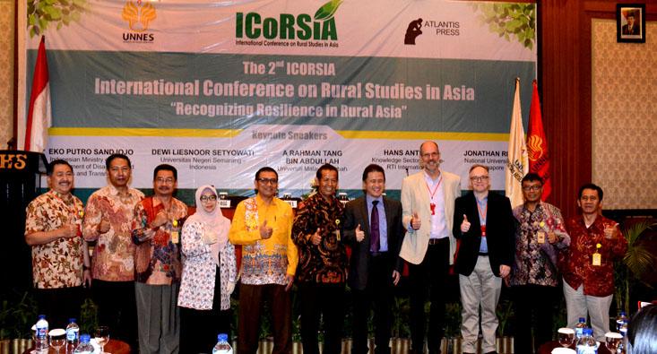 FIS UNNES International Seminar Highlights Village Problems