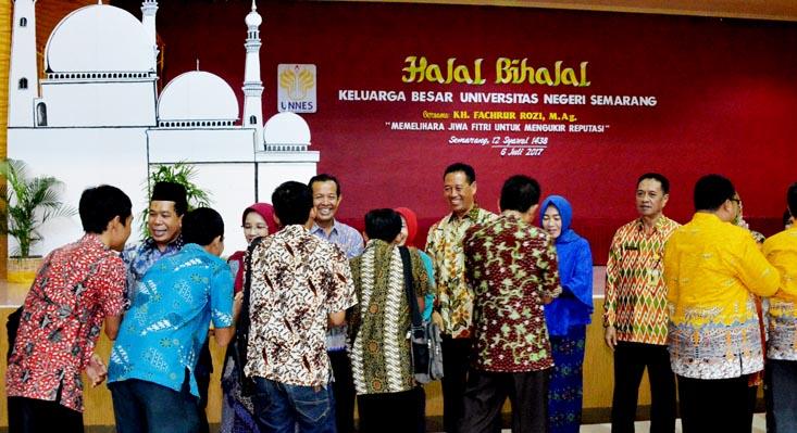 Ceramah di Halalbihalal UNNES, Fachrur Rozi Ajak Civitas Akademika Jaga Keutuhan Bangsa