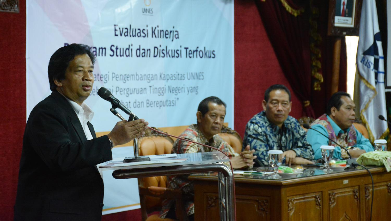 Prof Jamal Wiwoho: UNNES Harus Masuk Jajaran Klaster Satu dan PTN-BH