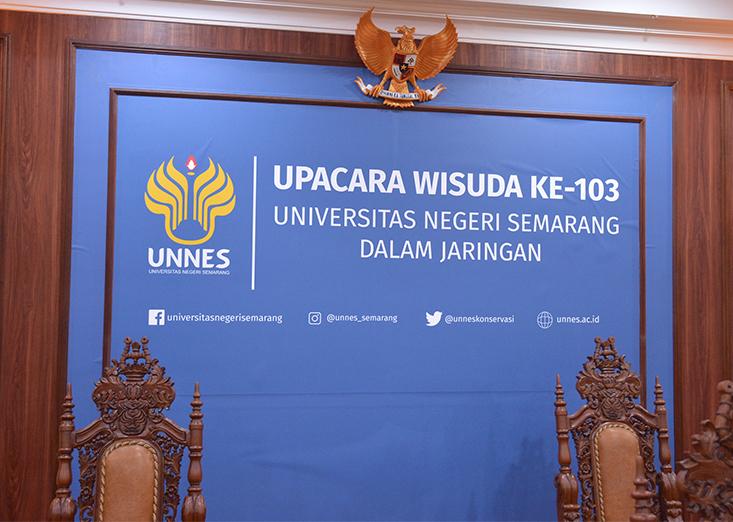 Besok, UNNES Selenggarakan Wisuda Ke-103 Secara Daring