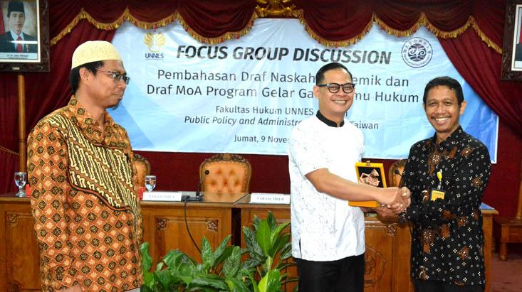 FGD UNNES-NCNU, Perkuat Kerjasama Perolehan Gelar Ganda