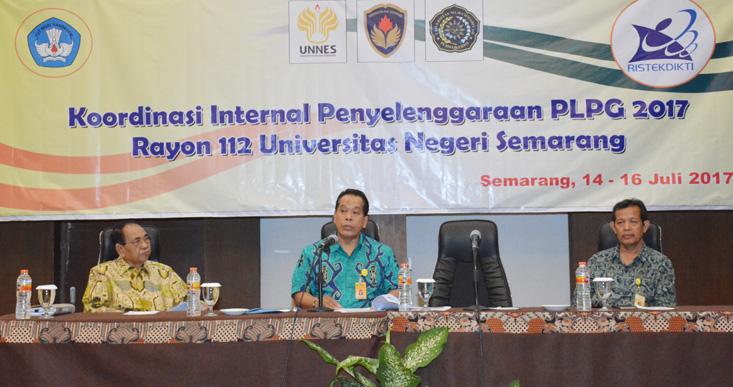 Ketua Rayon 112 UNNES: Pelaksanaan PLPG 2017 Ada Perbedaan