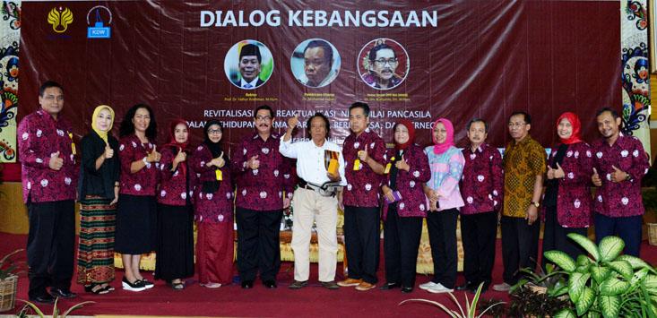 Revitalisasi Nilai-Nilai Pancasila Dikemas dalam Dialog Kebangsaan