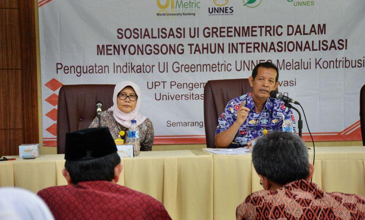 Tingkatkan Peringkat  Green Metric, UPT Konservasi UNNES Adakan Sosialisasi