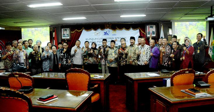 UNNES Terima Kunjungan Komisi X DPR RI