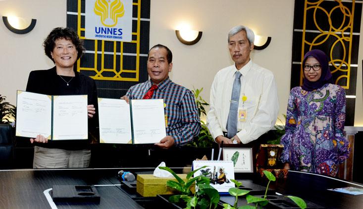 UNNES Jalin Kerjasama dengan National Dong Hwa University