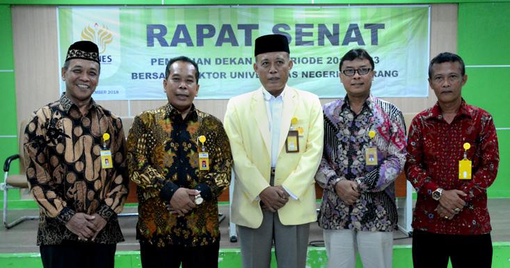 Pilihan Dekan FIP UNNES, Achmad Rifai Unggul