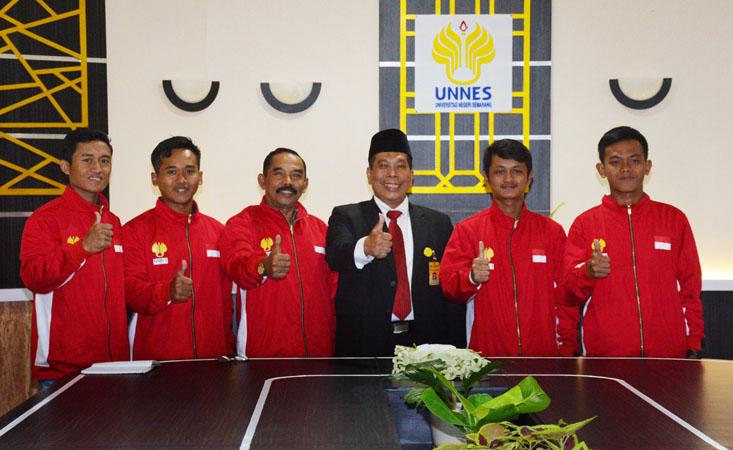 Empat Mahasiswa UNNES Ikuti Kejuaraan Woodball Internasional di Taiwan
