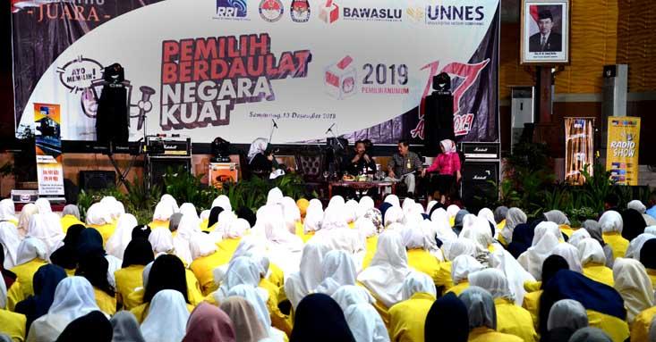Talkshow bersama RRI: Sukseskan Pemilu yang Berdaulat