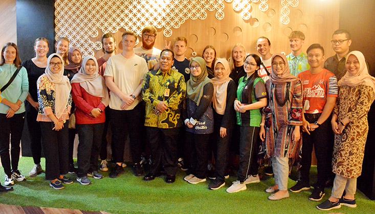 17 Mahasiswa Denmark dan Malaysia ikuti Program Student Exchange di UNNES