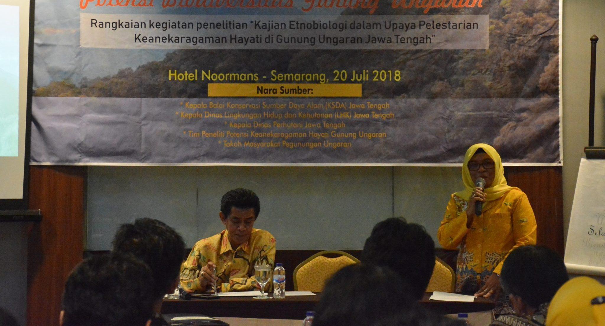 UNNES Lestarikan Potensi Biodiversitas Gunung Ungaran melalui Focus Group Discussion
