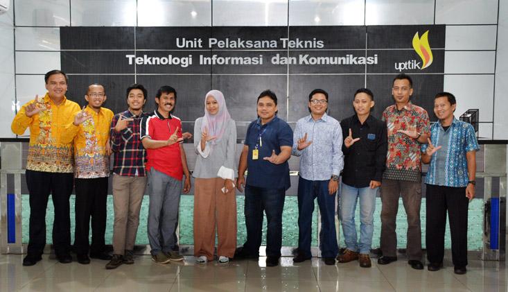 Kembangkan TIK Terintegrasi UIN Raden Intan Lampung, ke UNNES