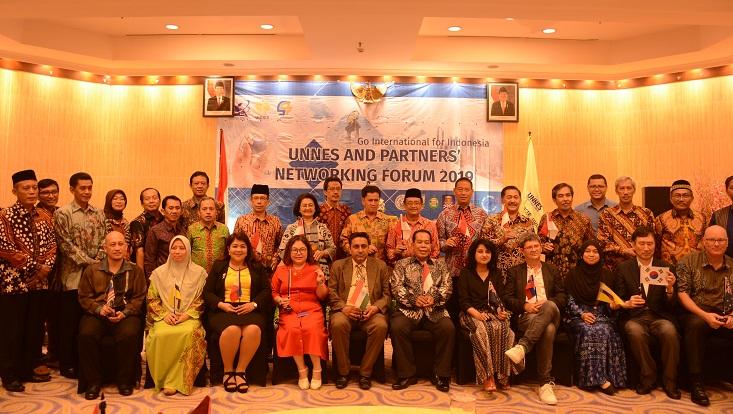 Mitra dari 10 Negara Hadiri UNNES Partners Networking