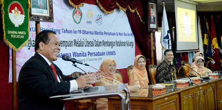 Rektor UNNES: Peran Ibu Sangat Penting