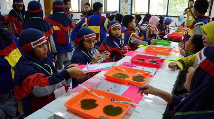 108 Siswa SD Islam Terpadu Yaumi Fatimah Belajar Lingkungan di UNNES