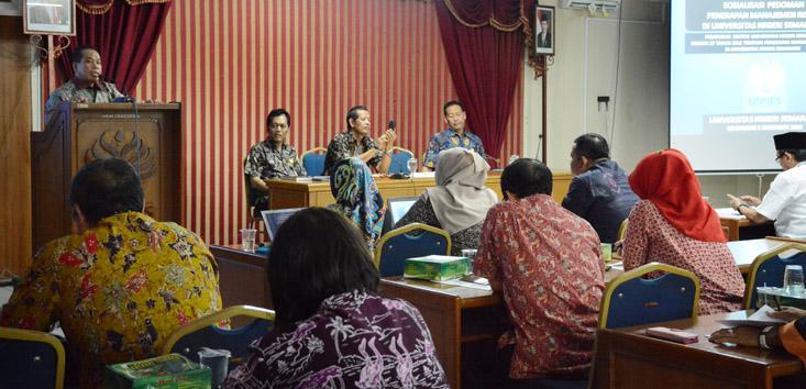 BPK UNNES Selenggarakan Sosialisasi Pedoman Penerapan Manajemen Risiko