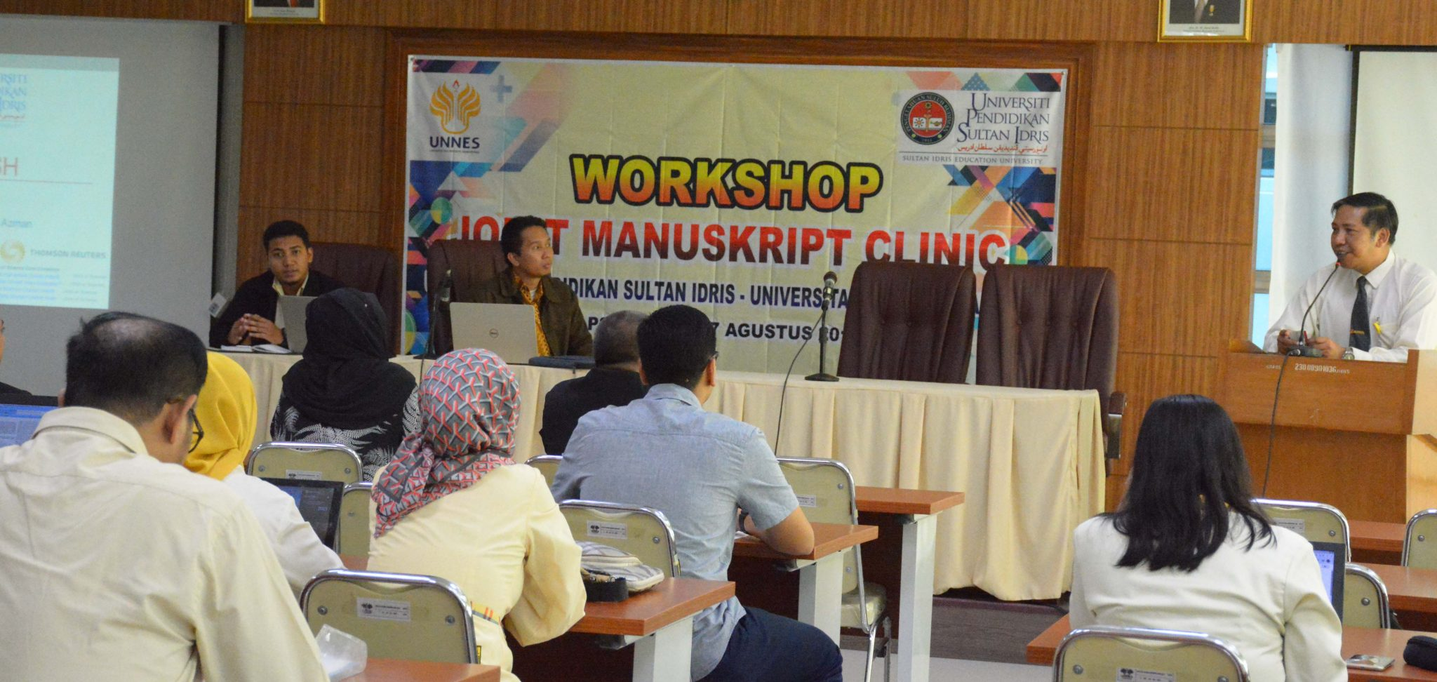 Tingkatkan Publikasi Internasional, UNNES – UPSI Malaysia adakan Workshop Joint Manuscript Clinic