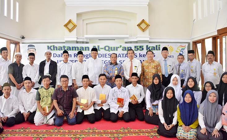 UNNES Selenggarakan Khataman Al Qur'an 55 Kali