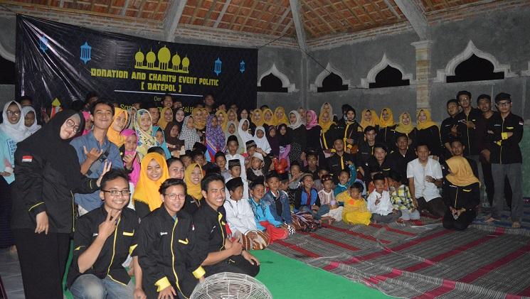 Nuansa Bulan Suci Ramadan, Mahasiswa Ilmu Politik UNNES Gelar Buka Puasa Bersama di Panti Sosial Anak