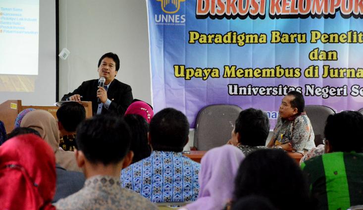 Prof Jamal Wiwoho Bakar Semangat Dosen UNNES Tingkatkan Penelitian