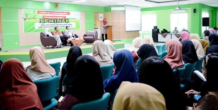 CPNS 2019 Segera Dibuka, PGPAUD UNNES Fasilitasi Mahasiswa Melalui Seminar