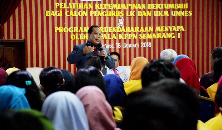 Rektor UNNES Ajak Mahasiswa Jadi Pemimpin Besar