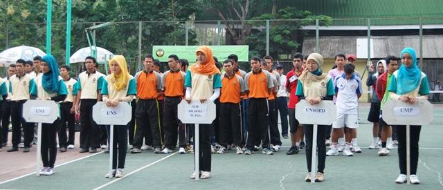 Unnes Gelar Kejuaraan Tenis Antarmahasiswa Se-Jawa