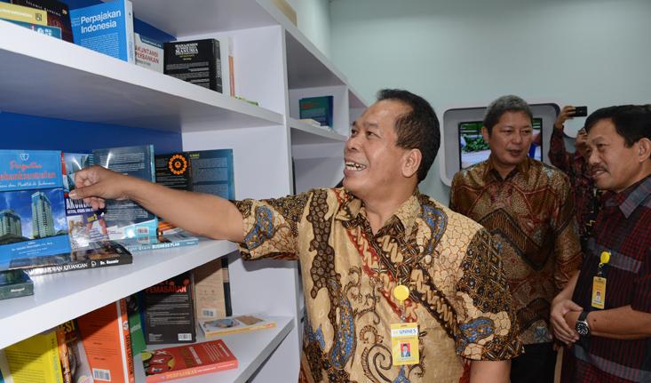Kerja Sama, UNNES -Bank Indonesia Dirikan BI Corner di FE