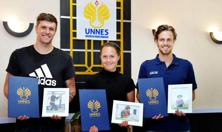 Peserta Joint Summer Course 2017 dari Denmark di UNNES Berakhir, Mereka Ingin Kembali Studi Lanjut
