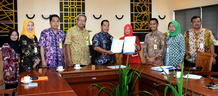 SMAN 1 Semarang Jalin Perjanjian Kerja Sama dengan UNNES