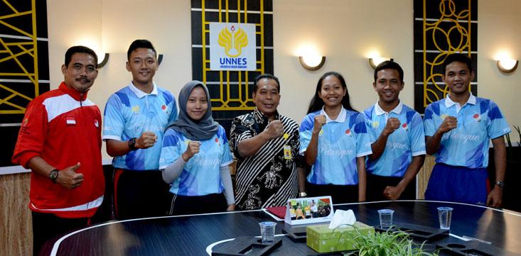 Lima Mahasiswa UNNES Siap Berlaga di Malaysia