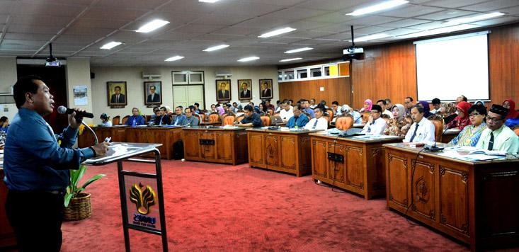 Rektor UNNES: Program Kerja UNNES Harus Searah dengan Kemristekdikti
