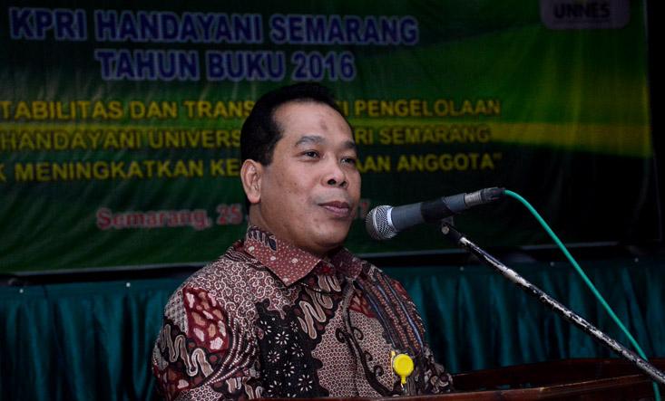 Kepala Dinas Koperasi dan UMKM Kota Semarang Apresiasi Akuntabilitas KPRI Handayani UNNES