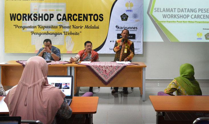 Kerjasama dengan Unissula, Pusat Karier UNNES selenggarakan Workshop Carcentos