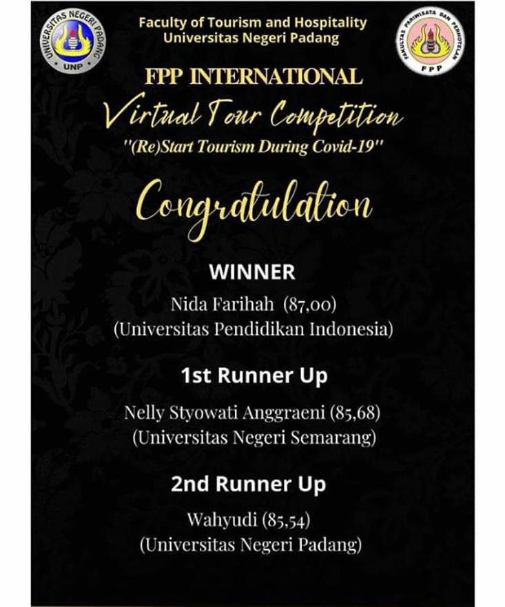 Dua Tim Mahasiswa Tata Kecantikan FT Raih Juara di Ajang Internasional