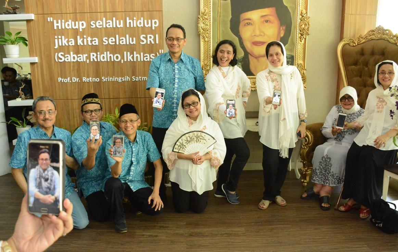 Saat Idul Fitri Keluarga Prof Satmoko Kembali Napak Tilas di UNNES