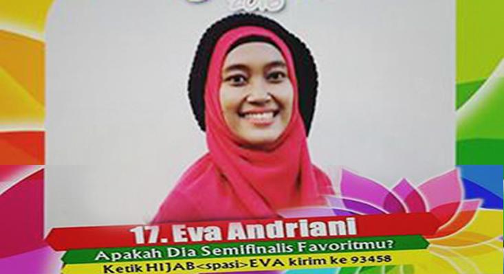Ayo Dukung Eva Andriani Mahasiswa FE Unnes di Sunsilk Hijab Hunt 2016