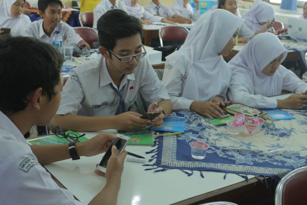 Mahasiswa UNNES, Dukung Gerakan Literasi Sekolah