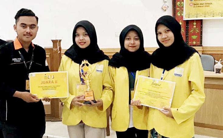 Mahasiswa FE dan FIS UNNES Juara Tingkat Nasional