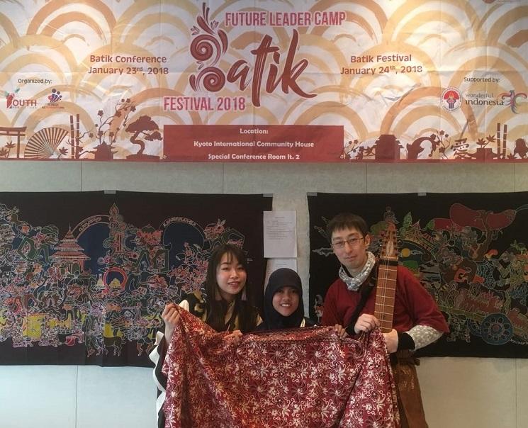 Ikuti FLCBF 2018, Mahasiswa PIPS UNNES Sukses Kenalkan Budaya Batik di Negeri Sakura
