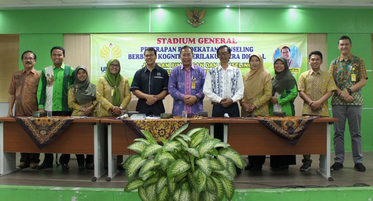Narasumber Malaysia Berbagi Ilmu Terapi Kognitif Kepada Mahasiswa BK UNNES