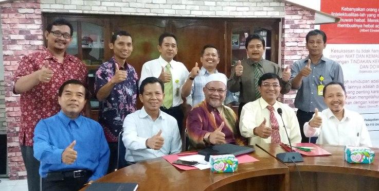Unnes dan UKM Malaysia Sepakati Pertukaran Dosen dan Mahasiswa