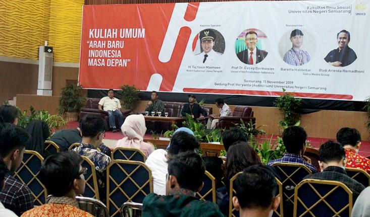 Songsong Kampus Merdeka, FIS UNNES Selenggarakan Lokakarya Format Baru Rancangan Perkuliahan