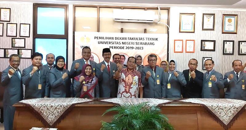 Dr Nur Qudus Terpilih Kembali Menjadi Dekan Fakultas Teknik
