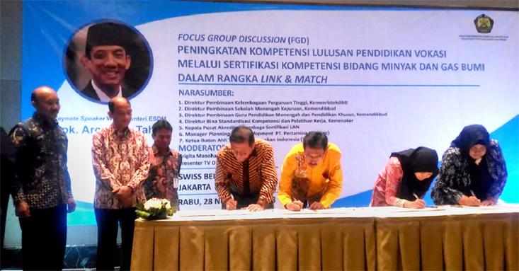 Fakultas Teknik UNNES Tandatangani MoA dengan PPSDM Migas